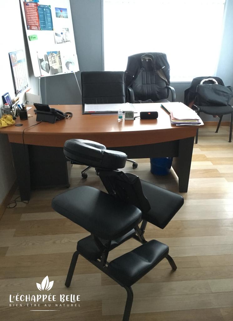 massage sur chaise entreprise