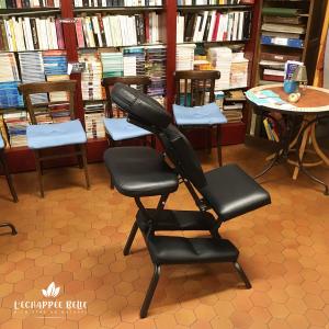 massage thaï assis sur chaise ergonomique bien-être détente relaxation le havre et son agglomération particuliers professionnels entreprise événement