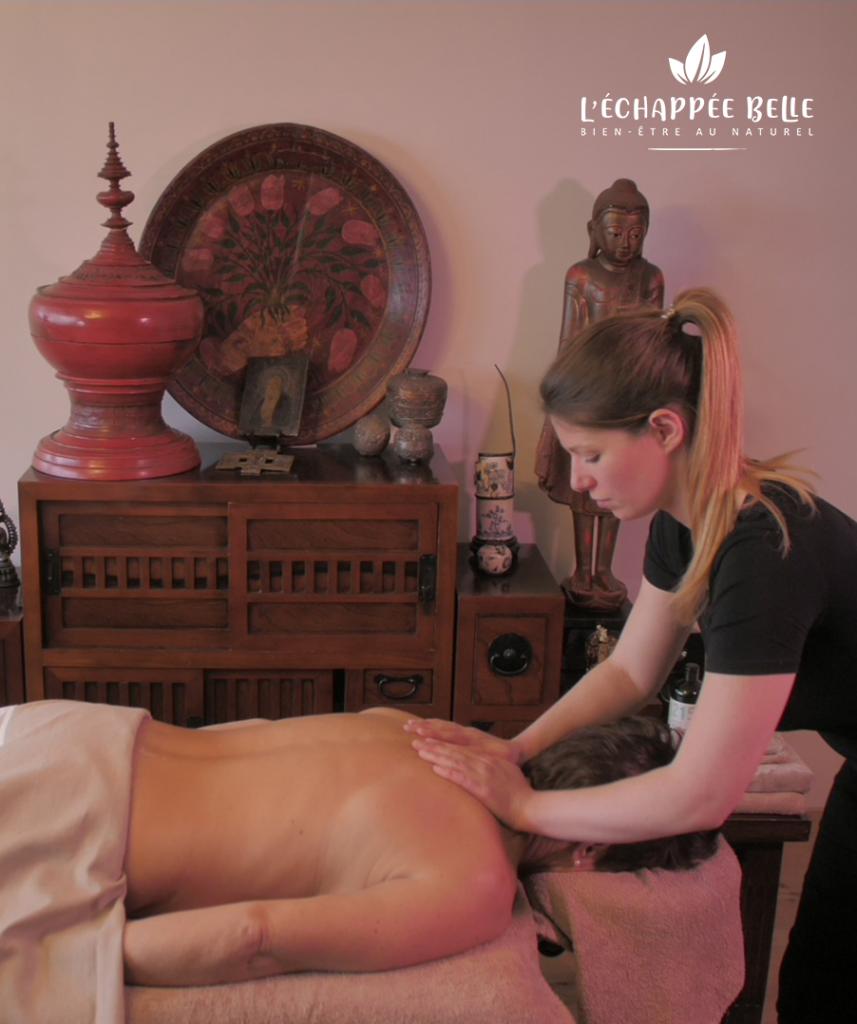 L'échappée belle massage le havre et son agglomération bien-être détente relaxation particuliers professionnels entreprises événements soin beauté